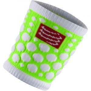 Compressport Sweat Band D DotsGreen - Manchons de compression