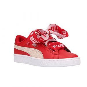 Puma Basket Heart DE W chaussures toreador/white