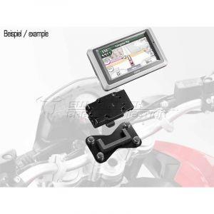 Sw-motech Support GPS QUICK-LOCK noir Kawasaki KLV 1000 04-06