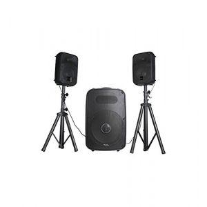 Image de Ibiza Sound Ibiza 15-2173 CUBE158 Système de sonorisation triphonique amplifié
