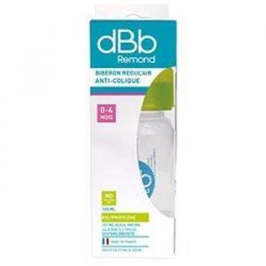 dBb Remond Biberon polypropylène Regul'air Clear 120 ml tétine non silicone