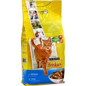 Friskies Croquettes pour chats Saumon/Légumes