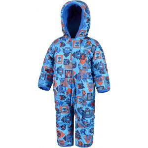 Columbia Combinaisons Snuggly Bunny Bunting - Super Blue Critter Block / Super Blue - Taille 3-6 Mois