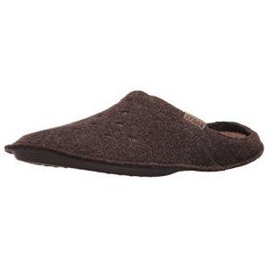 Crocs Classic Slipper, Chaussons Mixte Adulte - Marron (Espresso/Walnut), 39-40 EU (M6/W7 UK)