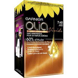 Garnier Olia 7.40 Cuivré intense - Coloration permanente