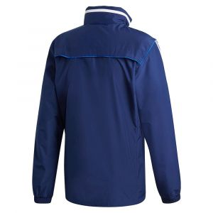 Adidas Tiro 19 All Weather Jacket Regular - Dark Blue / White - Taille XXXL