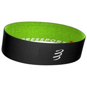 Compressport Free Belt, black/lime M/L Bracelets & Ceintures course à pied