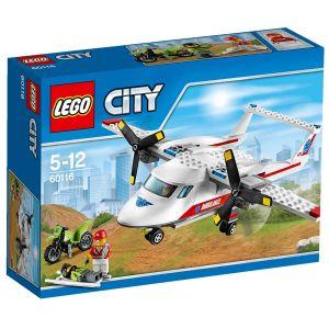 Lego 60116 - City : L´avion de secours