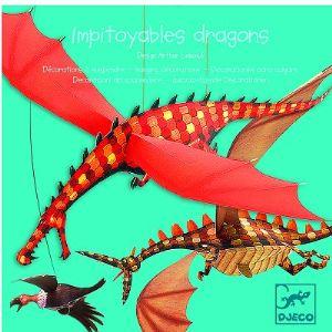 Djeco Mobile en papier : Impitoyables dragons