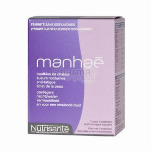 Nutrisanté Manhae 2 Mois - 60 Capsules