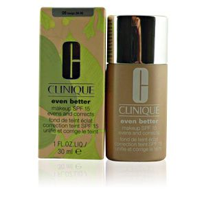 Clinique Even better 08 Beige - Fond de teint éclat correction teint SPF 15 unifie et corrige le teint