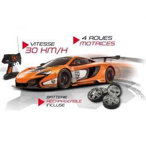 Mondo Motors Voiture radiocommandée Mc Laren 650s Gt3 R/C 1:10 (4 Rm + Batterie)