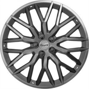 Gulf 4 enjoliveurs gris/noir GT40 16 pouces