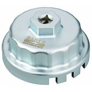 Bahco Clé pour filtre à huile, Toyota, Lexus, Subaru, Daihatsu 4, 6 ou 8 cylindres (2,5 à 5,7L) - BE63064514F2