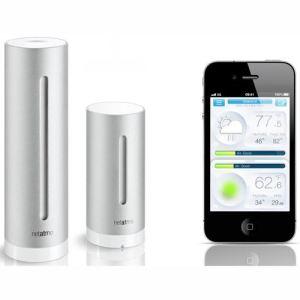 Netatmo NWS01-EC - Station météo contrôlée par smartphone (iOS / Android)