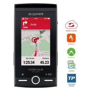 Sigma Compteur GPS ROX 12.0 Sport Set Cardio/Cadence Gris