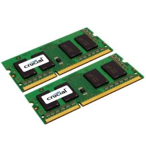 Crucial CT2KIT51264BF160BJ - Barrette mémoire 8 Go (2 x 4 Go) DDR3 1600 MHz SO-DIMM 204 broches