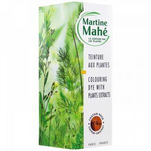 Martine Mahé Teinture aux plantes n°4bis Châtain roux