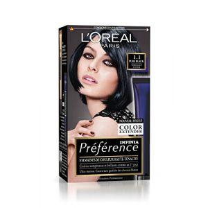 L'Oréal Préférence Infinia Brunes / Noires 1.1 Pure Black - Noir Glacé Intense