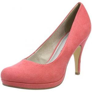 Tamaris 22407, Escarpins Femme, Rouge (Coral), 38 EU