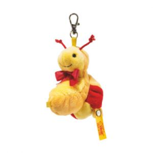 Steiff 112430 peluche Escargot en peluche Orange, Rouge, Jaune Peluche, Synthétique