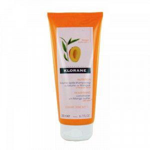 Klorane Baume après-shampooing - Beurre de mangue, 200ml