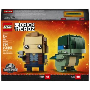 Lego 41614 - BrickHeadz : Jurassic World Owen et Blue