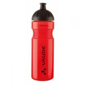 Vaude Outback - Bidon en plastique - 0,75l rouge unisex 80 % Polypropyl?ne, 20 % caoutchouc