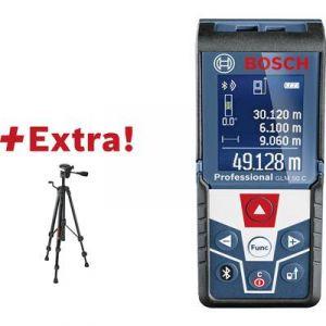 Bosch TELEMETRE LASER GLM 50 C + BT 105 PLAGE DE MESURE (MAX.) 50 M 06159940H0