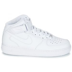 Nike Baskets montantes AIR FORCE 1 MID 07 LEATHER blanc - Taille 47,38 1/2,47 1/2,48 1/2