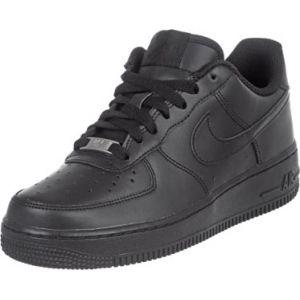 Nike Chaussure Air Force 1 pour Enfant plus âgé - Noir - Taille 36