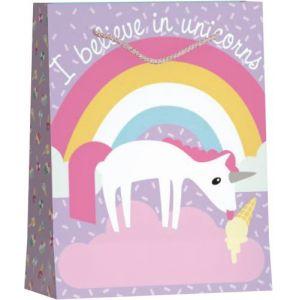 Hoomark Sac cadeau Licorne
