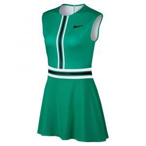 Nike Robe de tennis Court pour Femme - Vert - Taille XS