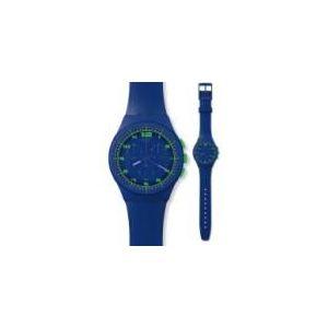 Swatch CHRONO - Montre mixte avec bracelet en silicone