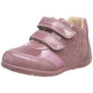 Geox B Kaytan A, Baskets Basses Bébé Fille, Rose (Dk Pink C8006), 23 EU