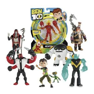 Giochi Preziosi Figurine articulée Ben Tetard Gris avec accessoires