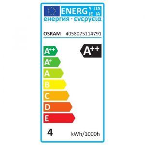 Osram Lot de 2 Ampoules LED flamme coup de vent E14 - 4 W - Claire