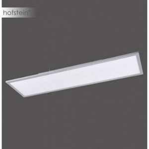LeuchtenDirekt Dalle LED 22 W blanc chaud Flat 14353-21 argent