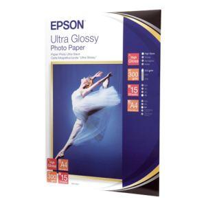 Epson C13S041927 - 15 feuilles de papier photo Ultra Glossy 300g/m² (A4)