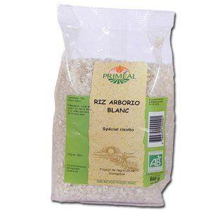 Priméal Riz Blanc pour Rizotto 500 g