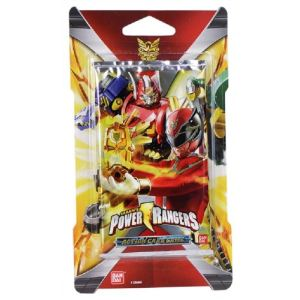 Bandai Pochette de cartes à collectionner Power Rangers pour DX Scanner