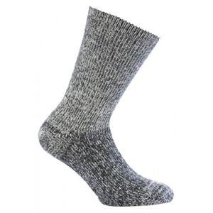 Image de Woolpower 800 Chaussettes mélange de gris 46-48 Chaussettes en laine