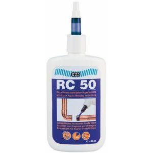 Geb Résine RC 50 pour raccorder le cuivre et laiton sans soudure