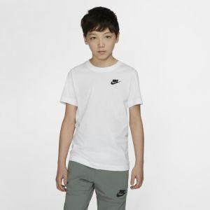Nike Tee-shirt Sportswear pour Enfant plus âgé - Blanc - Taille M