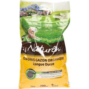 Naturen Engrais gazon organique 280m²