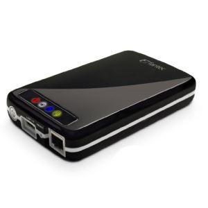 """Fantec MWiD25 (1636) - Boîtier externe pour disque dur 2.5"""" SATA vers USB 3.0 Ethernet WiFi"""