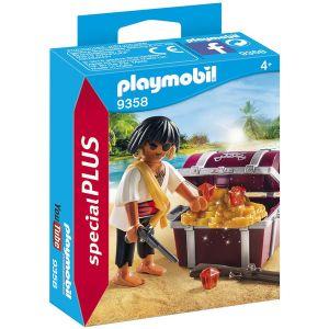 Playmobil 9358 - Pirate avec coffre au trésor