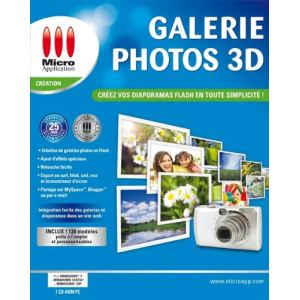 Galerie Photos 3D Flash pour Windows