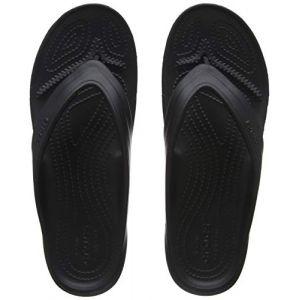 Crocs Classic, Tongs - Mixte Adulte - Noir (Black) - 46-47