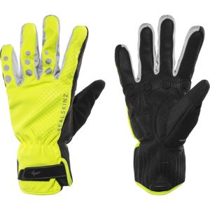 Sealskinz Gants vélo All Weather XP - Small Hi Vis Yellow/Black
